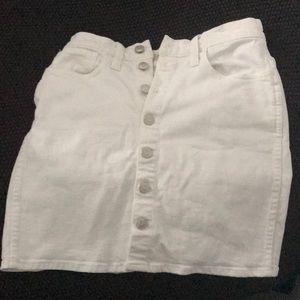 Madewell High-waisted skirt